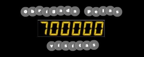 700 MIL VISITAS OBRIGADO