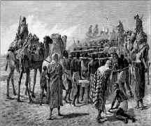 ÁRABES VENDERAM HEBREUS COMO ESCRAVOS