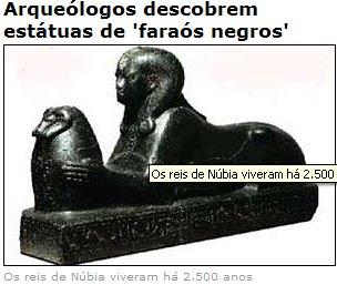 ESTÁTUAS DE FARAÓS NEGROS 001