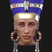 RETRATO RECONSTRUÍDO DA RAINHA NEFERTITI