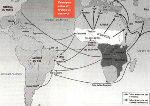 MAPA DA ROTA DO TRÁFICO DE ESCRAVOS 002