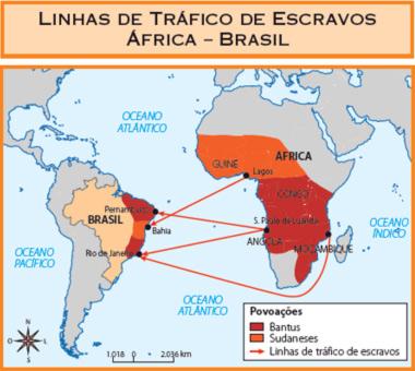 MAPA DA ROTA DO TRÁFICO DE ESCRAVOS 003