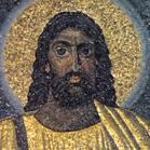 006 - MOSAICO DO 6 SÉC MOSTRA MESSIAS DE PELE NEGRA EM IGREJA EM ROMA 530 AEC